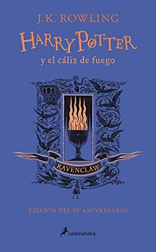 Harry Potter y el cáliz de fuego (edición Ravenclaw del 20º aniversario) (Harry Potter 4)