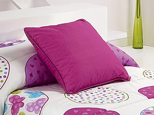 Reig Marti - Cojín con Relleno Wendy 50x50 cm - Color Rosa