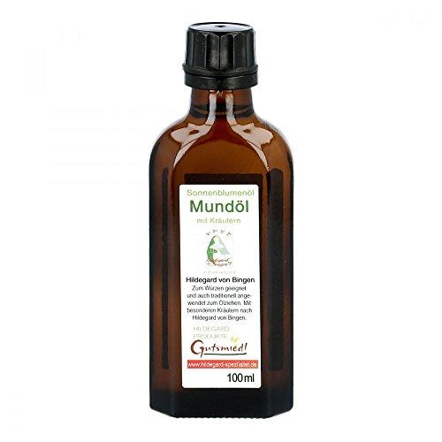 Mundöl mit Kräutern BIO 100 ml - Kraeuter in Einklang mit Hildegard von Bingen