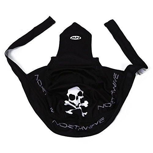 Little Sporter Sports Pirat Bandana Cap Schwarz Herren Damen Biker Bandanas Kopftuch Hat - 4