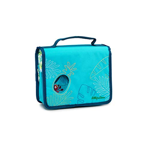 Lilliputiens 84413 Kulturtasche Badetasche für Kinder, praktisch für zu Hause oder unterwegs, Größe 22x19x7cm