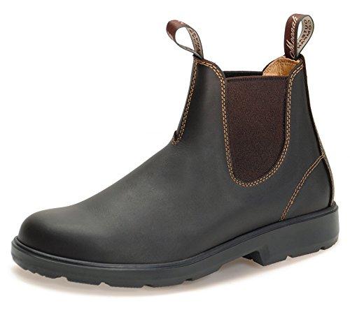 Moonah Ladies' Town & Country Chelsea Boots Light | Dark Brown | UK 4.5 / EU 37.5