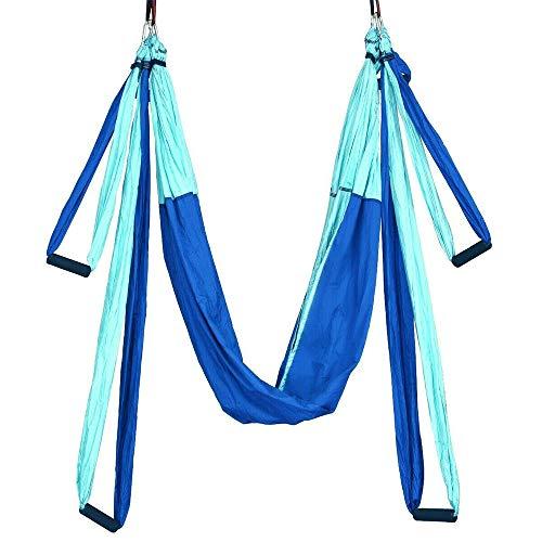 Anyutai Hamaca de Yoga Yoga Pilates Kit de Yoga Swing Air Yoga Hamaca antigravedad para cinturón de Yoga Air Yoga Hamaca Ejercicio Aero Yoga Fitness