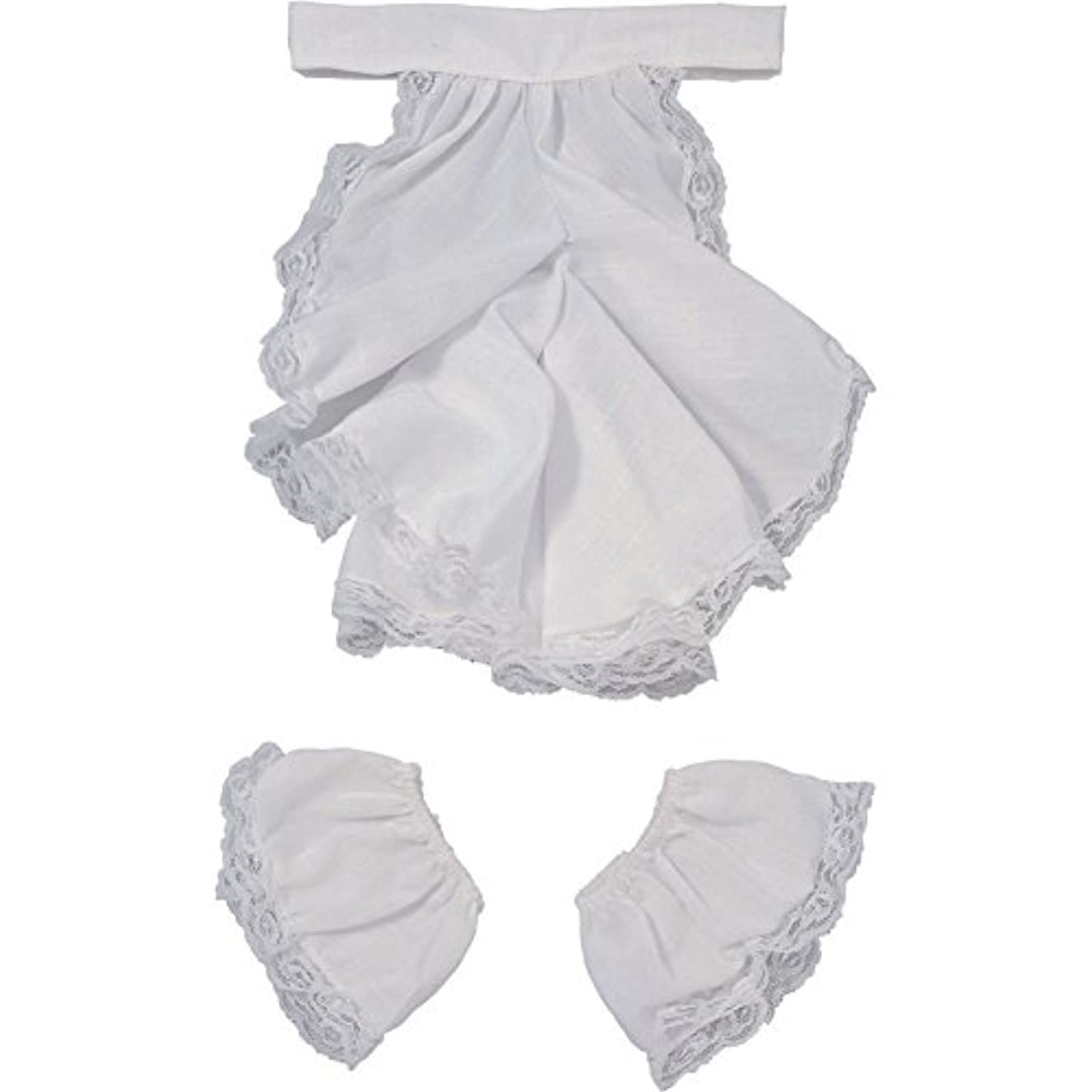 Victorian Jabot & Cuffs Lace Colonial Costume Set