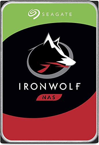 Seagate IronWolf 10TB NAS Internal Hard Drive HDD – 3.5 Inch SATA 6Gb/s 7200 RPM 256MB Cache RAID Network Attached Storage Home Servers - Newest Model (ST10000VN0008) (Renewed)