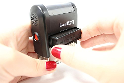 SECOND REQUEST Self Inking Rubber Stamp - Red Ink (42A1539WEB-R) Photo #7