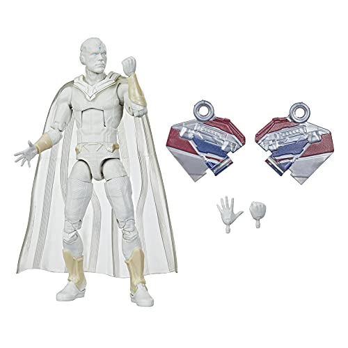 Avengers Hasbro Marvel Legends Series 6-inch Action Figure Toy Vision, Premium Design and 2 Accessories, for Ages 4 and Up