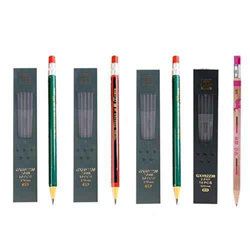 WANSI 1 set mechanisch potlood navulbaar type met navuldoos eenvoudige klik 2.0 mm