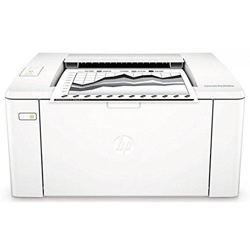 HP LaserJet Pro M102w Laserdrucker (Schwarzweiß Drucker, WLAN, Airprint) weiß