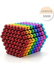 448 Billes magnétiques, Solutions créatives pour la Fixation de plaques magnétiques, Tableaux Blancs, réduction du Stress, Architecture, Puzzles Couleur 3D