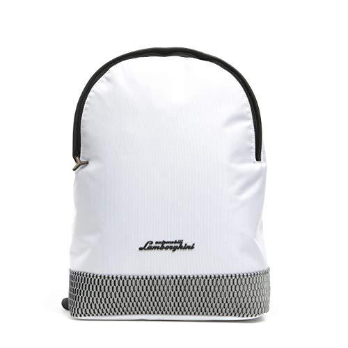 LamborghiniBianco White Backpack