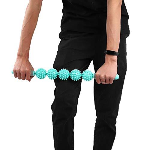 günstig Junlac Spiky Ball Yoga Bar Mintgrün, tragbare Faszienstange zur Verbesserung der Spannung… Vergleich im Deutschland