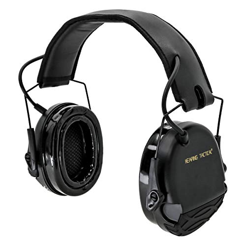 HEARING TACTICAL Electronic Ear Protection Noise Reduction for Shooting Range 22db