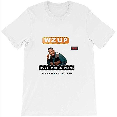 Martin Payne Wzup Sitcom 90s Damn Gina T Shirt Gift Tee Graphic for Womens Man White