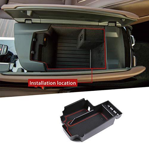 DIYUCAR Voor G30 5 Series 2020 ABS Plastic Auto Centrale Opbergdoos Deur Telefoon Handschoen Armrest Box Accessoires
