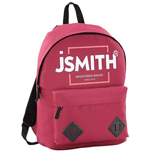 John Smith M20203 Mochila, Unisex niños, Vino Burdeos, Talla Única