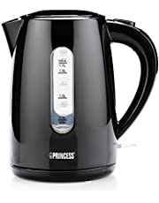 Princess 236017 Waterkoker – 1.7 Liter inhoud – 2200 Watt – Zwart