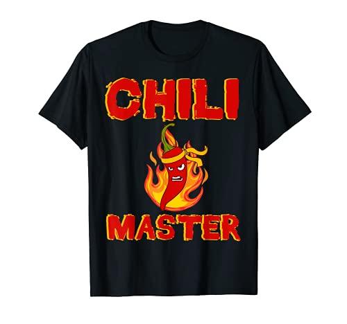 Würze Jalapeno Chili Master Pepperoni Hot Scoville Chilli T-Shirt
