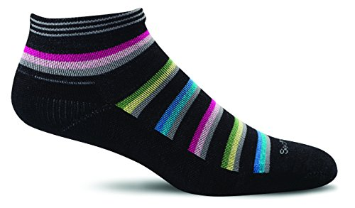 Sockwell Women's Sport Ease Bunion Relief Sock, Black - M/L