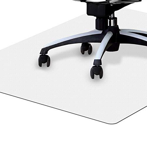 NAMZOFFICE® Bodenschutzmatte – Für Hartboden & Teppichboden – Ökofreundliche Bodenmatte Bürostuhl – Robust & rutschfest (90 x 120 cm)