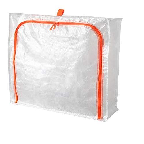 Parkla IKEA Sac de Rangement sous Le lit Housse de Rangement pour vêtements Taille 55 x 49 x 19 cm