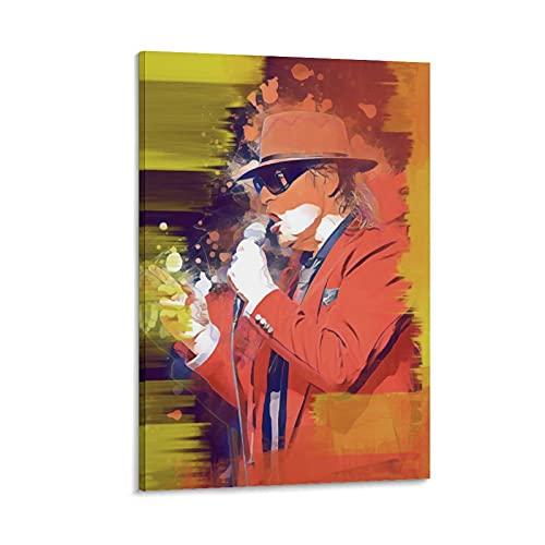 Udo Lindenberg Honig Im Kopf Rock Singer Rap Rock Hip Hop DJ, stampa artistica su tela e stampa artistica da parete, 20 x 30 cm