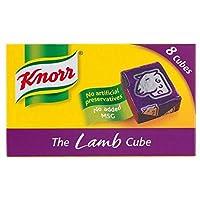 Knorr Stock Cubes Lamb (8x10g) クノール株式キューブ子羊( 8X10G )