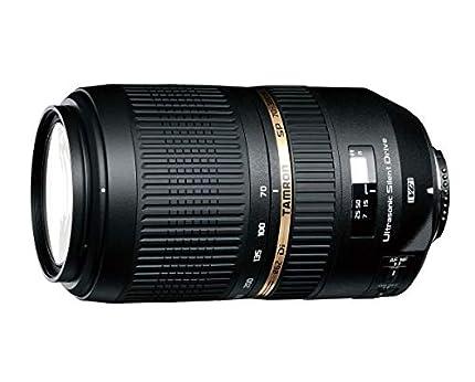Tamron SP 70-300 mm F/4-5.6 Di VC USD (XLD)- Objetivo para Canon (distancia focal 70-300mm, apertura f/4-5,6, estabilizador óptico, macro, diámetro: 62mm) negro
