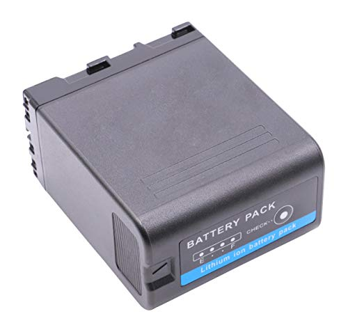 vhbw Li-Ion batteria 5200mAh (14.8V) con infochip per telecamera videocamera camcorder Sony PXW-FS5, PXW-FS5K come BP-U30, BP-U60, BP-U90, BP-U95.