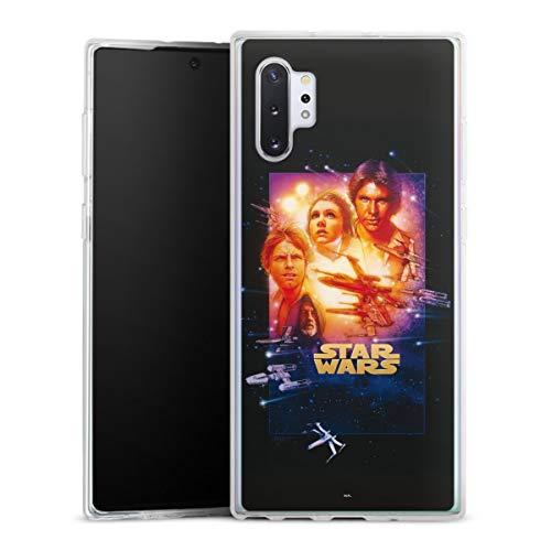 DeinDesign Silikon Hülle kompatibel mit Samsung Galaxy Note 10 Plus 5G Hülle transparent Handyhülle Star Wars Fanartikel Special Edition