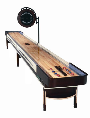 Playcraft Telluride Espresso 16' Shuffleboard Table