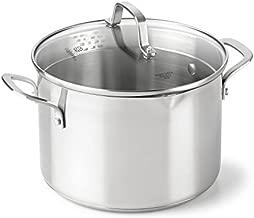 Calphalon Classic Stainless Steel Cookware, Stock Pot, 6-quart