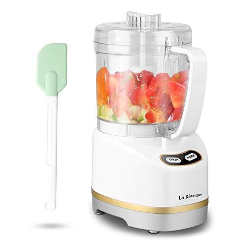 La Reveuse Electric Mini Food Processor with 200...