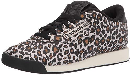 Reebok womens Princess Shoes Sneaker, Black/Chalk/Gum, 7.5...