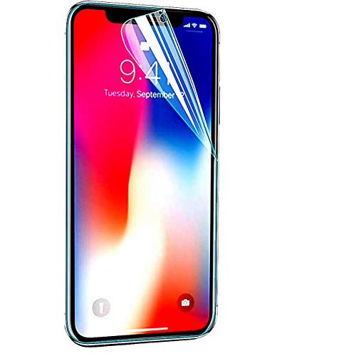 iBarbe Screen Protector Compatible with iPhone XR/11 6.1 inch Phone,3D Touch Edge to Edge,PET Film, HD Clear,2.5D Edge,Anti-Scratch Film,Not Glass Anti-Scratch