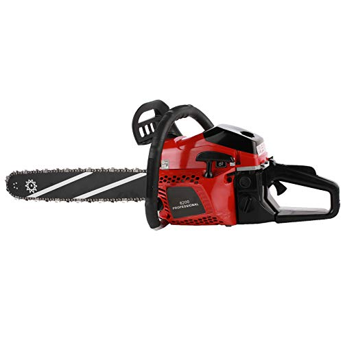 Homdox Gas Chainsaw 62CC Power Chain Saw,20-Inch Gasoline Chain Saw with 2 Chains,Tool Set and Carry Bag