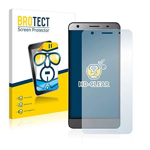 BROTECT Schutzfolie kompatibel mit Elephone P7000 (2 Stück) klare Bildschirmschutz-Folie
