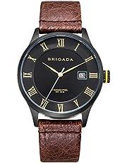 高級 時計 メンズ ブランド ブラウン クラシック 上品 腕時計 ブランド メンズ 時計 [並行輸入品]