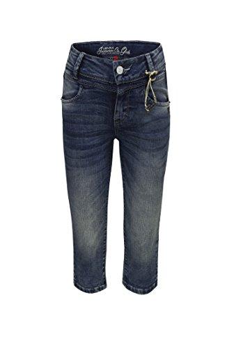 Lemmi Mädchen Capri Jeans MID 1880347603, Gr. 1128 Blue Denim/Blue