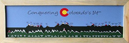 Homemagnetics Conquering Colorado's 14ers Graphic Art