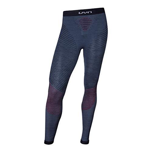 UYN Man Fusyon UW Long sous-vêtement Fonctionnel. Homme, Orion Blue/Bordeaux/Pearl Grey, L-XL