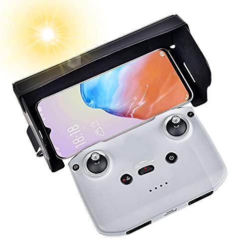 Telefono Cappuccio Parasole Pieghevole Parasole Pieghevole Per DJI Mini Mavic Air2 Drone Sunhood in Pelle Antiriflesso,per 4,4-7 pollici schermo