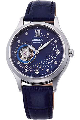 Orient Unisex Erwachsene Analog Automatik Uhr mit Leder Armband RA-AG0018L10B