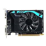 QINGMEI Graphics Fan Fit for Sapphire Radeon R7 240 2GB Video Cards GPU Fit for AMD GDDR3 GDDR5 64bit 128bit Graphics Screen Cards Desktop Game Graphics Card