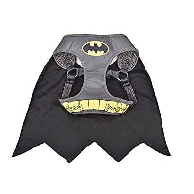 DC Comics for Dogs Batman Superhero Dog Harness