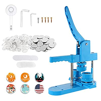 Amazon - 15% Off on  Plastic Button Maker Machine Pin Maker Kit