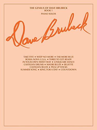 The Genius Of Dave Brubeck - Book 1 (Piano Solo). Für Klavier