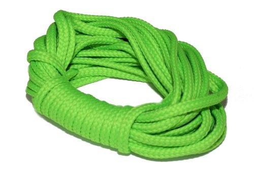 dalipo 33002 - Kordeln, Schnur 4mm, neon-grün