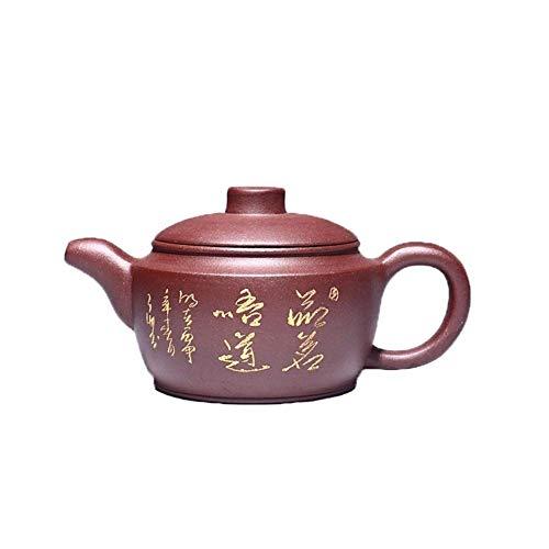 ZJN-JN Conjunto Tetera Tetera de Mineral de auténtico Hecho a Mano de té de la Tetera de Arcilla púrpura del azulejo Esfuerzo La decoración del hogar Actual