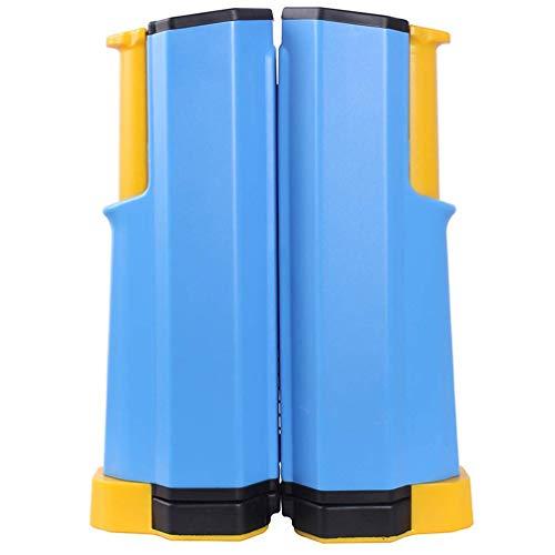 FGDSA Rack portátil para Red de Tenis de Mesa, Red de Ping-Pong retráctil, Ajustable para Cualquier Soporte de Viaje, Accesorios Deportivos para Interiores y Exteriores, Ra (Juegos de Escritorio)